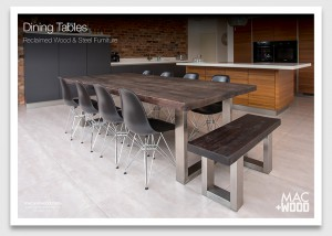 Mac+Wood Wood and Steel Tables Brochure