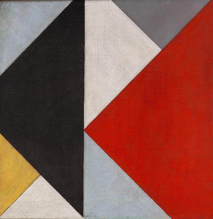 Counter Composition XIII by Theo Van Doesburg