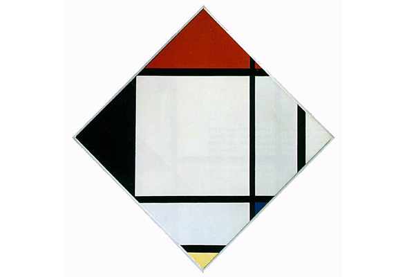 Tableau Number 4 by Piet Mondrian by Piet Mondrian.