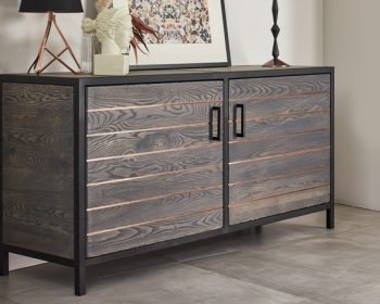 Ash and Copper sideboard by Mac+Wood
