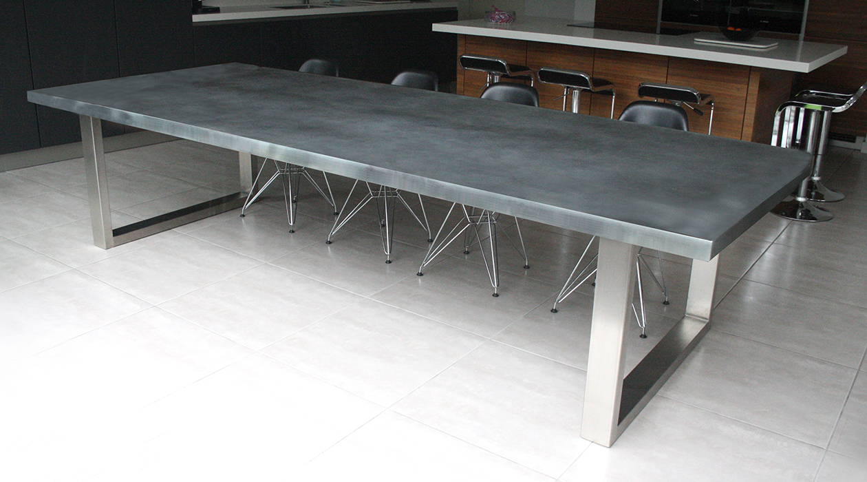 Zinc Signature table